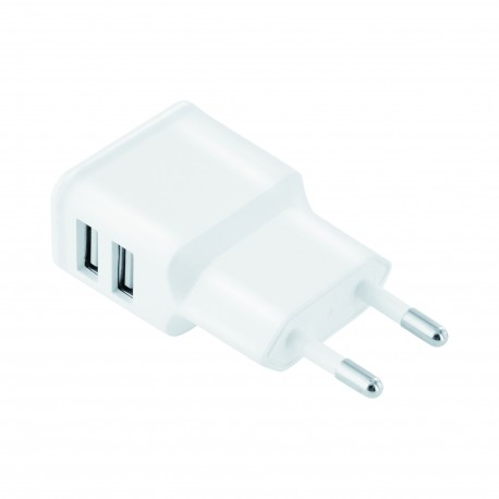 2Connect USB Home Charger 2.4A White
