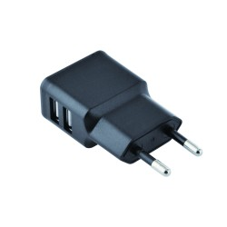 2Connect USB Home Charger 2.4A Black
